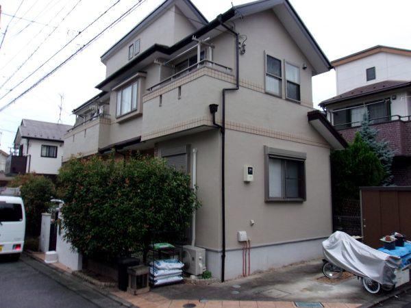 西東京市で外壁屋根塗装!サーモアイで遮熱効果!