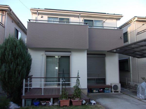 小金井市で外壁屋根塗装とシーリング工事