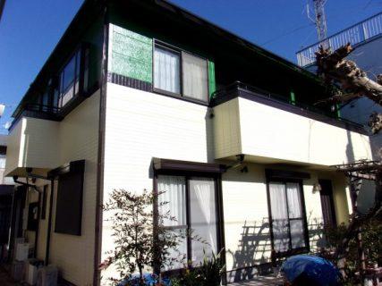 武蔵野市で外壁屋根塗装