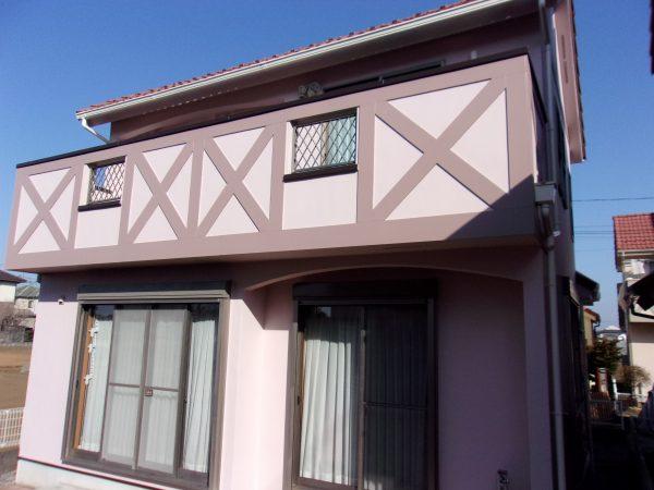 立川市でラジセラプロを使用して外壁塗装